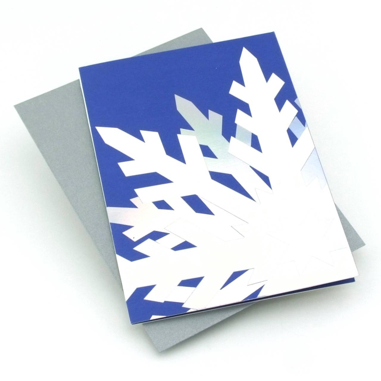 MoMA Pop-Up Holiday Cards Dazzling Snowflake Set of 8 | the design gift shop