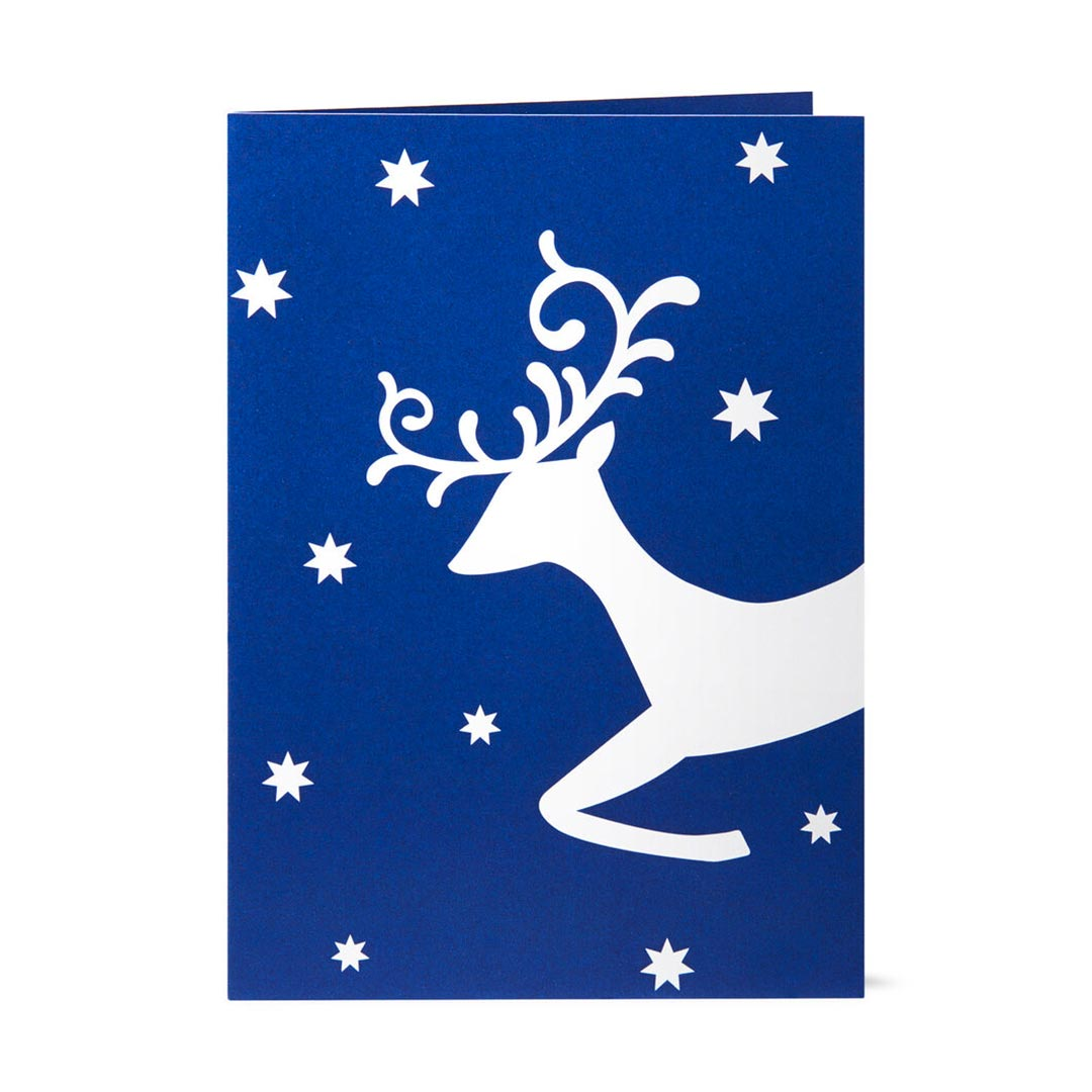 MoMA Pop-Up Holiday Cards Christmas Eve, Set of 8   the design gift shop