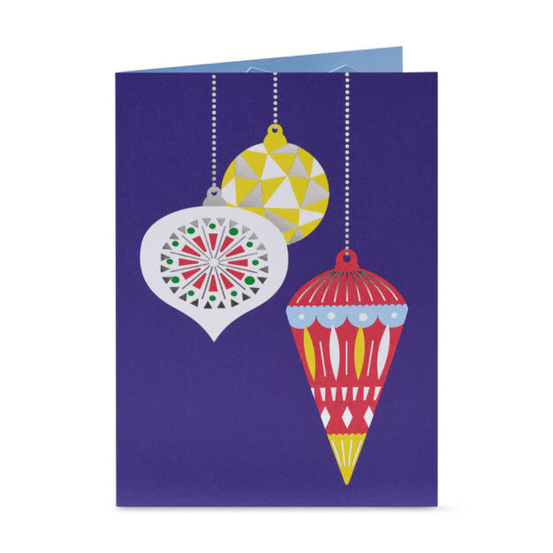 MoMA Pop-Up Holiday Cards 'Holiday Ornaments' -  Set of 8 | the design gift shop