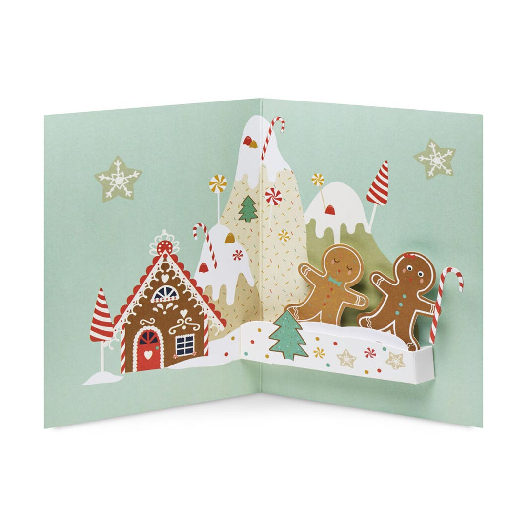 MoMA Pop-Up Holiday Cards 'Gingerbread Mountain' -  Set of 8 | the design gift shop