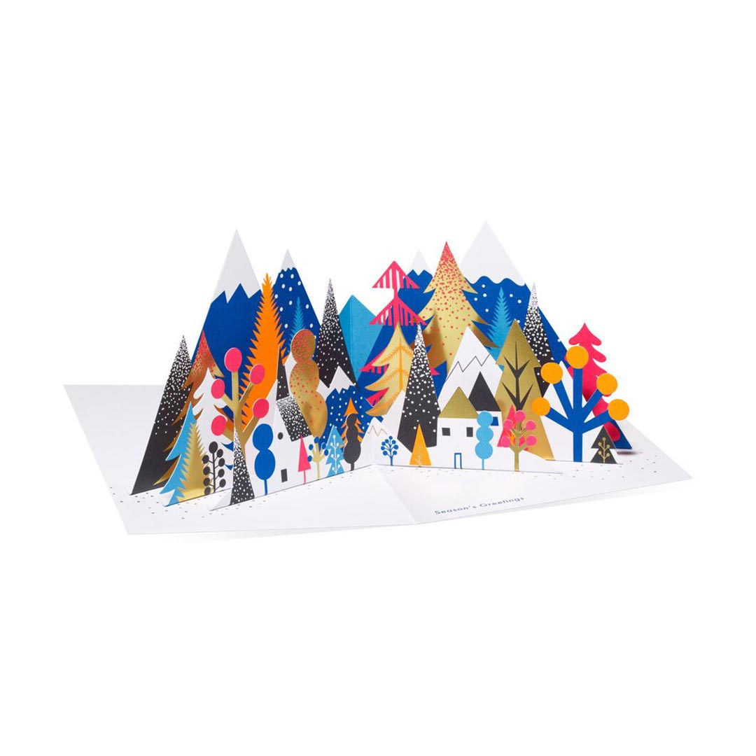 MoMA Pop-Up Holiday Cards 'Forest Holiday' - Set of 8   the design gift shop