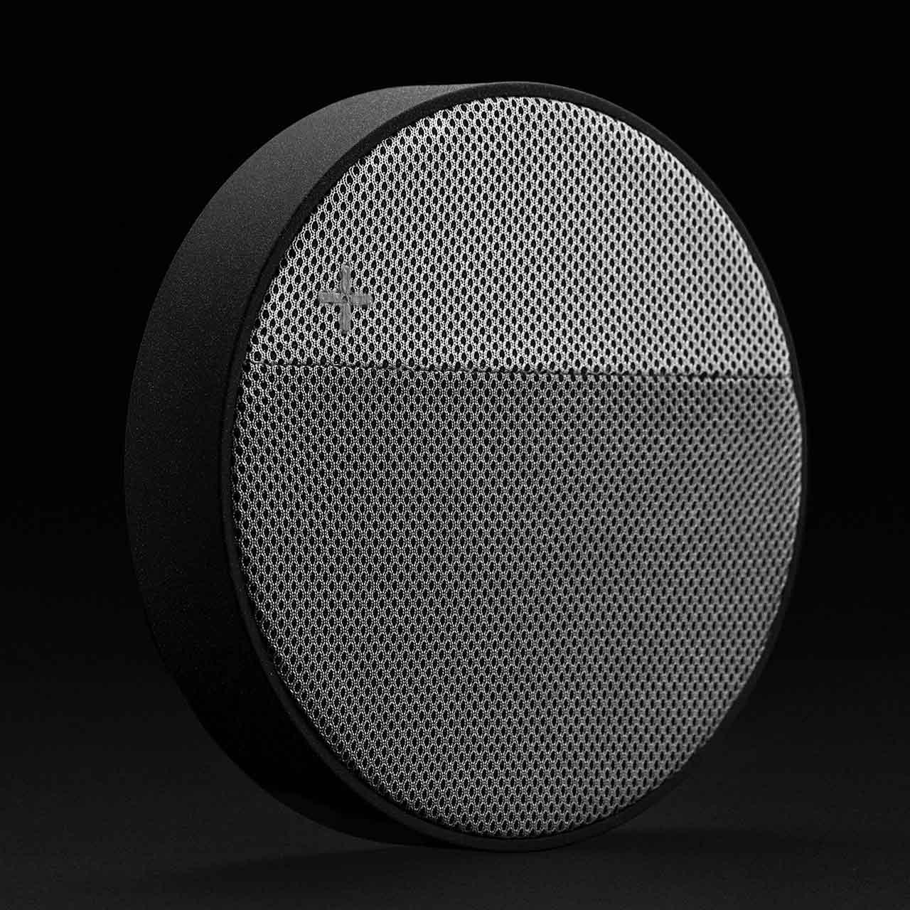 LEXON Oslo Energy Grey Charging Station & Bluetooth Speaker   The Design Gift Shop