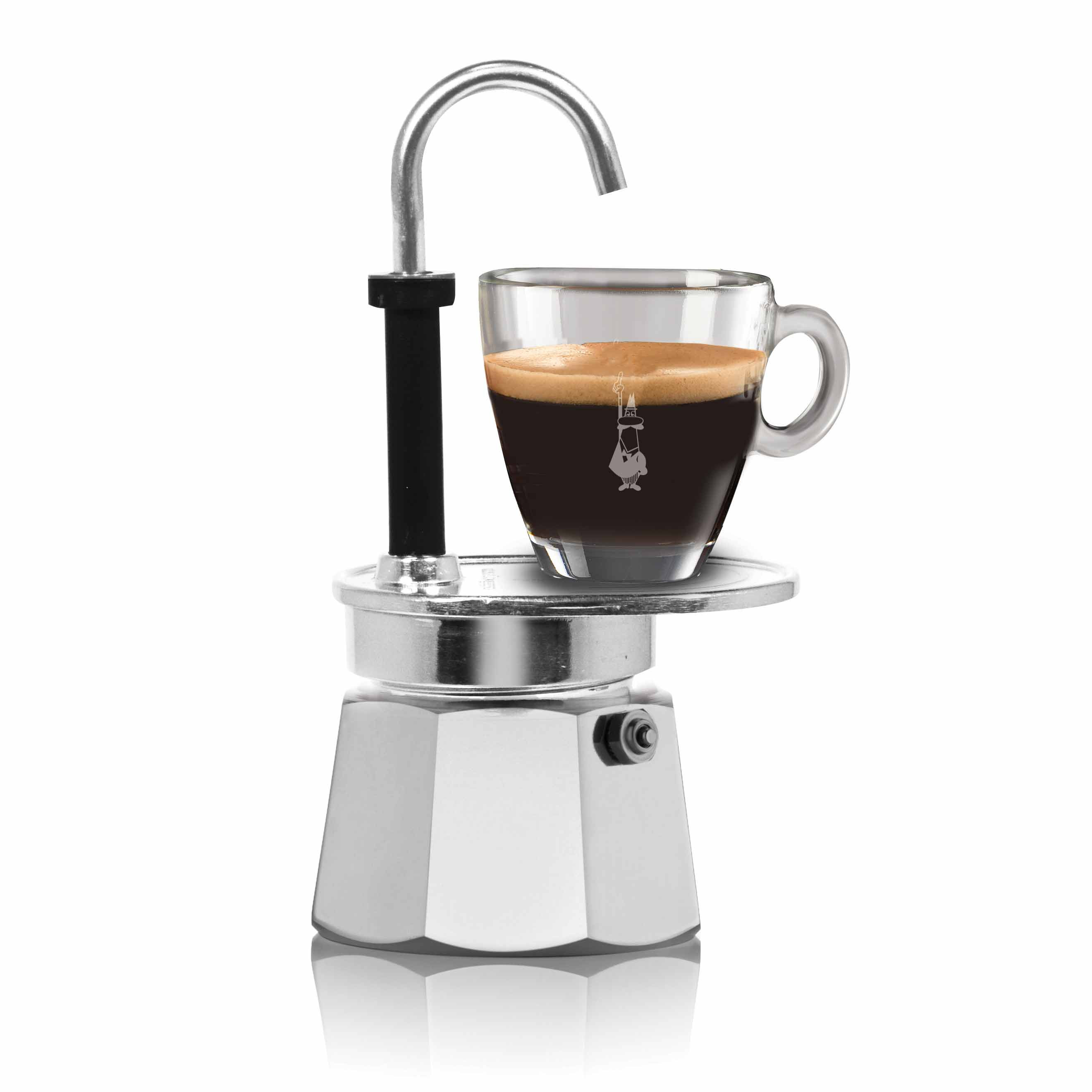 BIALETTI Mini Express 1 Cup Coffee Maker (cup not included) | the design gift shop