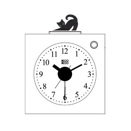 KidsAlarm alarm clock   the design gift shop