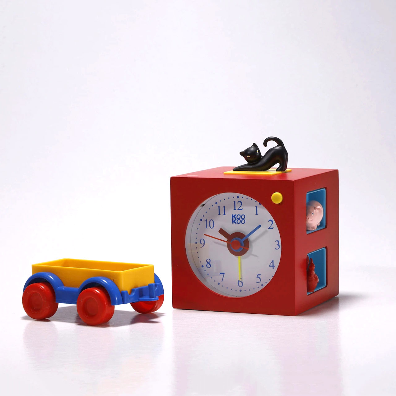 KidsAlarm red alarm clock   the design gift shop