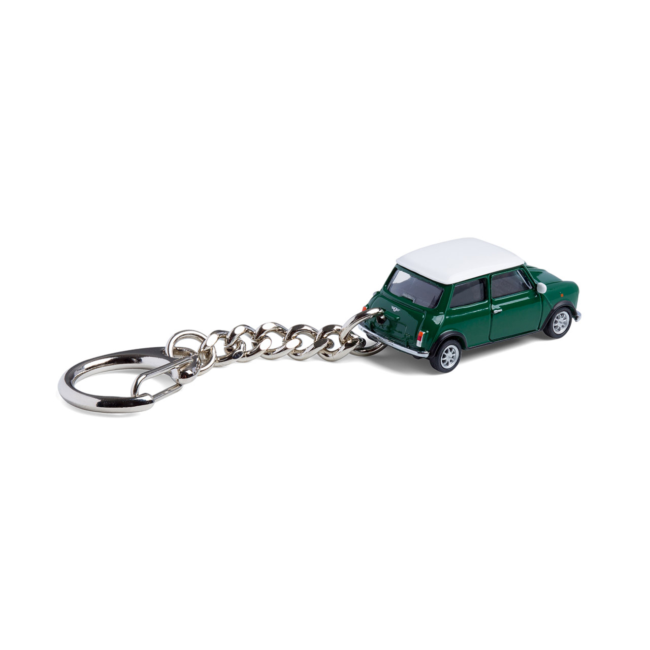 British Racing Green Mini Cooper keyring | the design gift shop