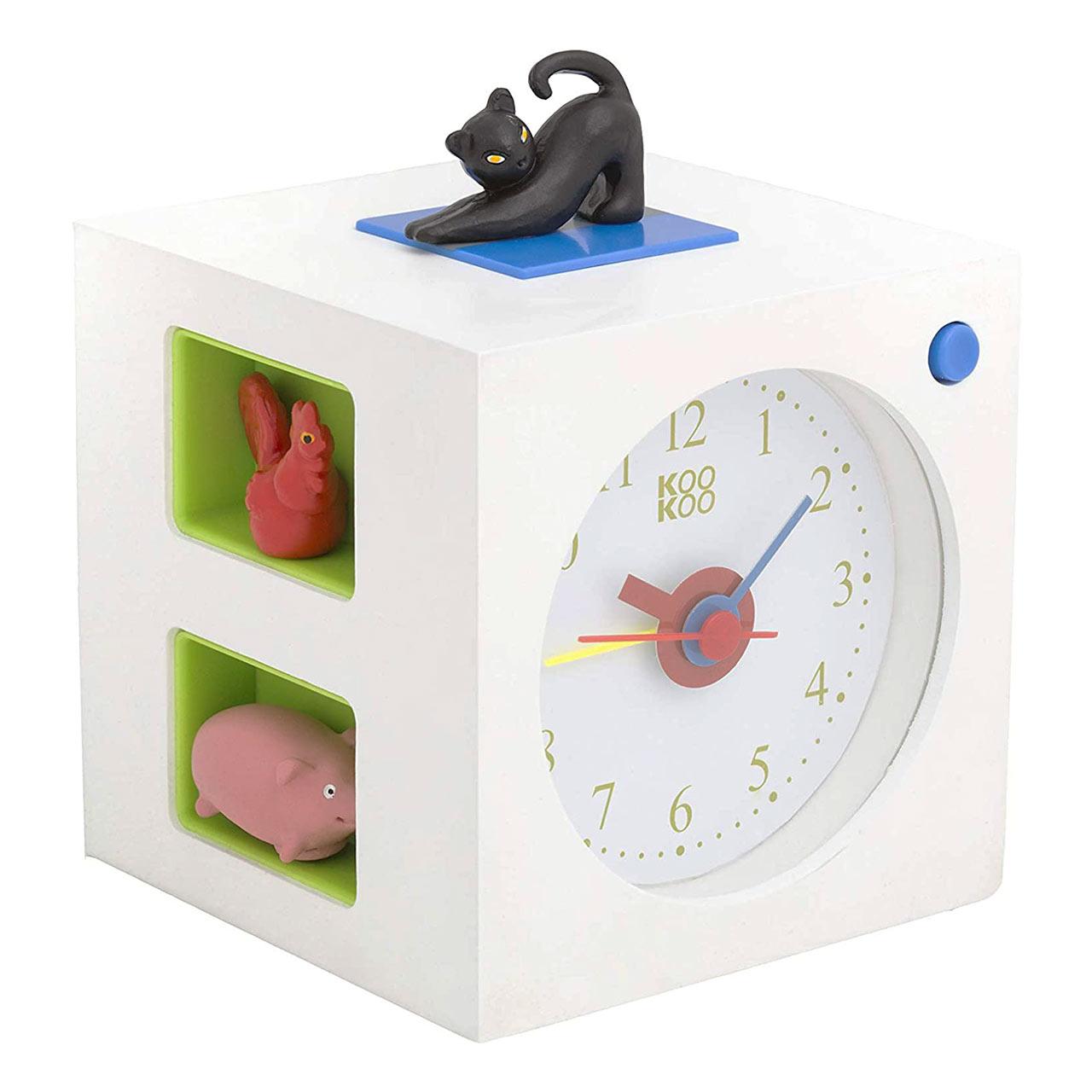 KidsAlarm white alarm clock | the design gift shop