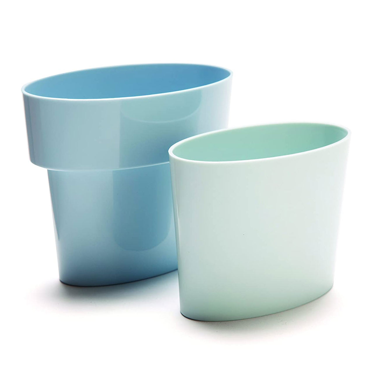 Blue Slim Flower Pot by Monkey Business | the design gift shop