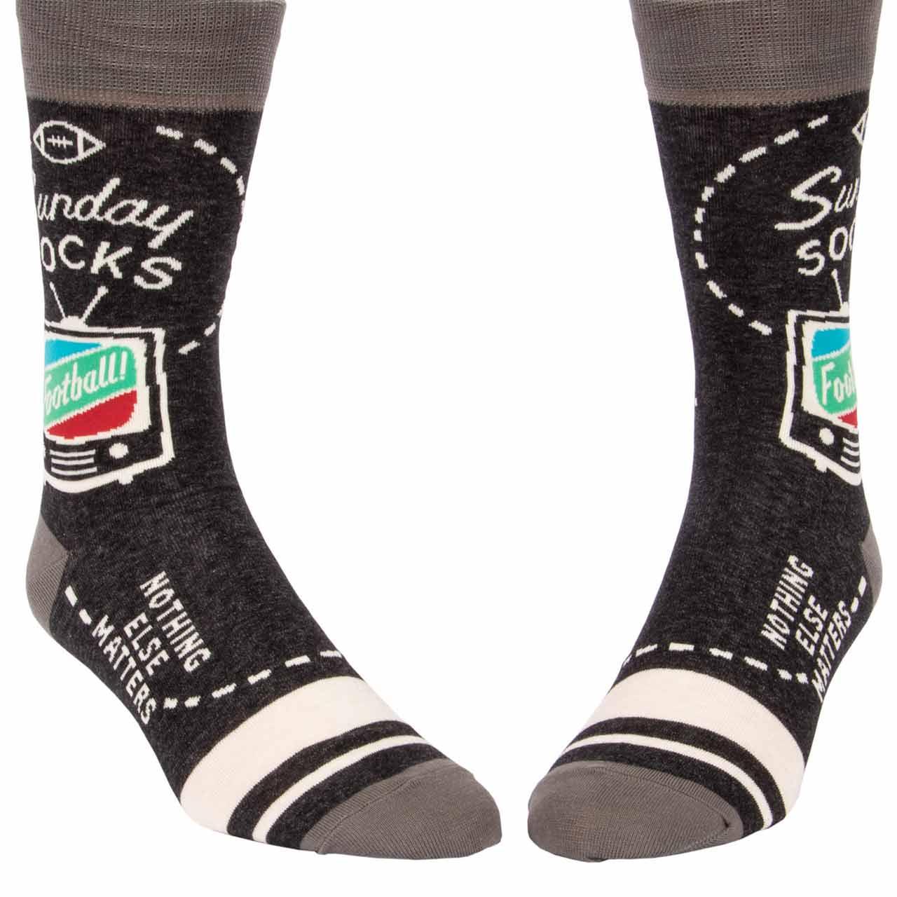 BLUE Q Men's Socks | Sunday Football Socks