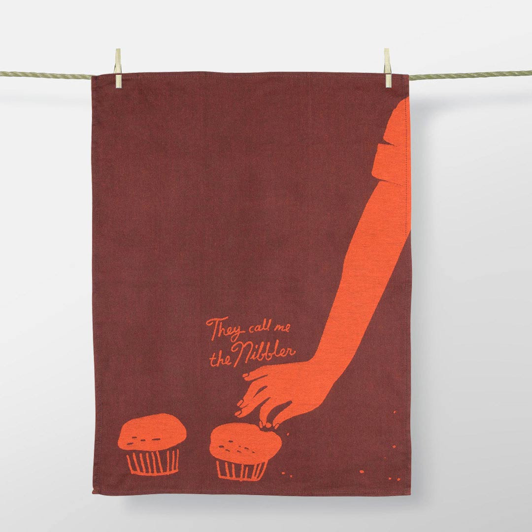 'They call me the Nibbler' Dish Towel by Blue Q  | the design gift shop