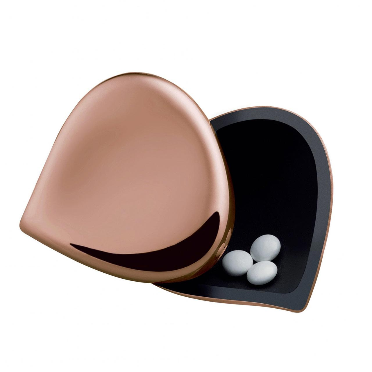 ALESSI Pill Box Rose Gold | the design gift shop