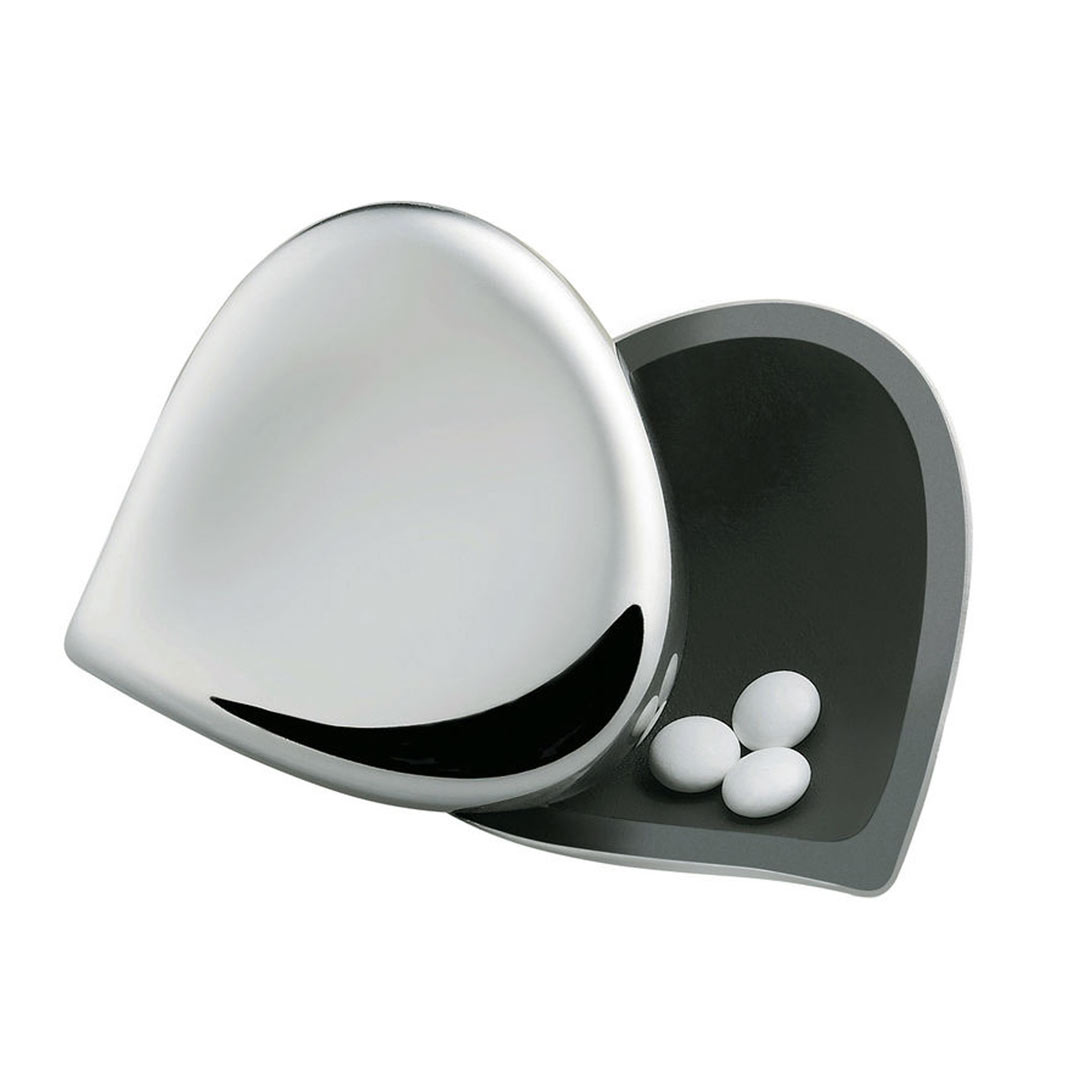 ALESSI Pill Box Silver | the design gift shop