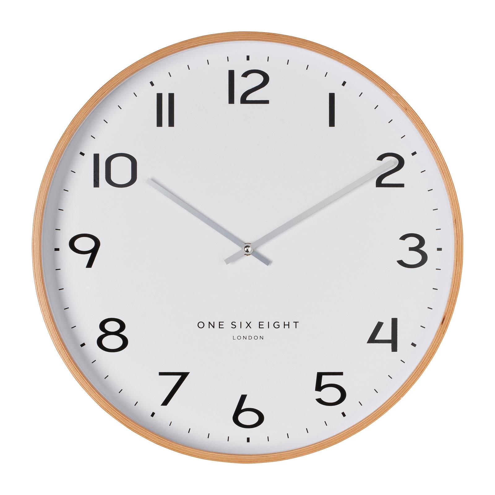 ONE SIX EIGHT LONDON silent wall clock OLIVIA white - Ø 41 x 4.5 cm | the design gift shop