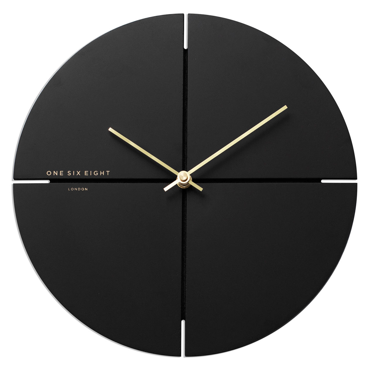 ONE SIX EIGHT LONDON silent wall clock LIAM charcoal grey - Ø 40 cm x 4.0 cm | the design gift shop