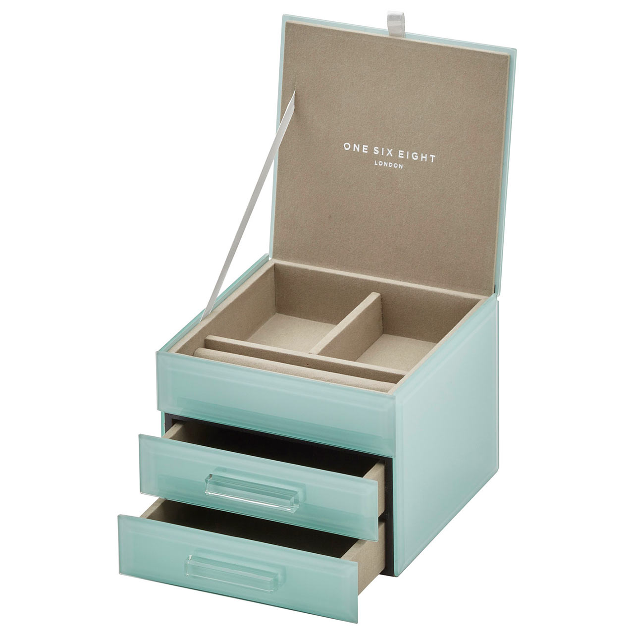 ONE SIX EIGHT LONDON Jewellery Box GABRIELLA Mint | the design gift shop