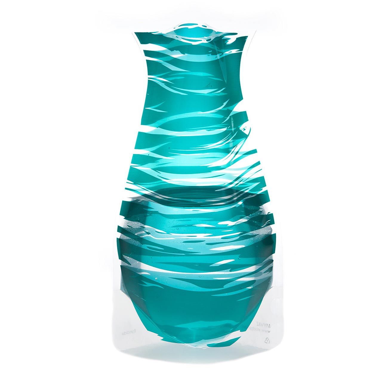 Expandable and Collapsible Vase Bandido Emerald | the design gift shop