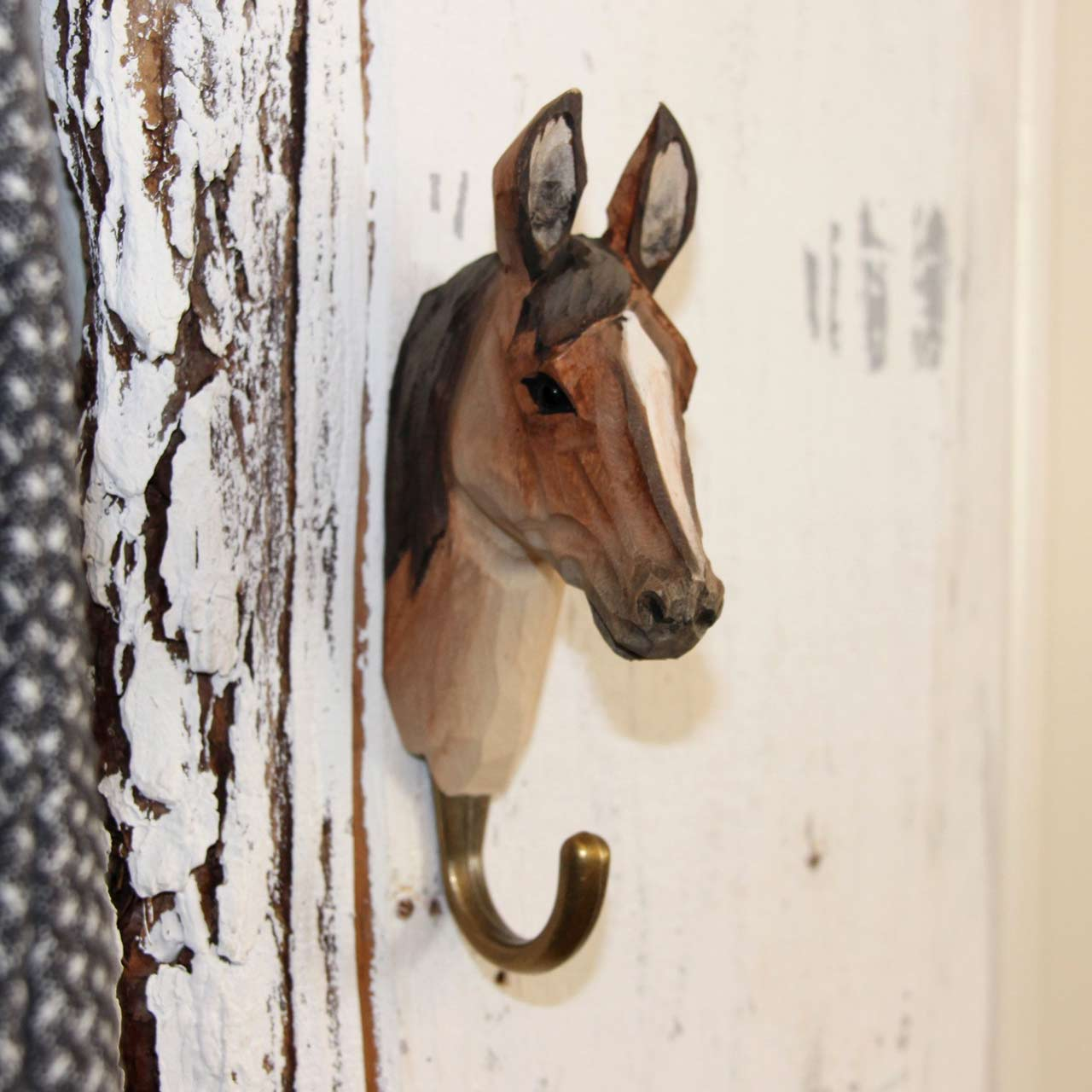 WILDLIFE GARDEN Wall Hook Arab Horse | the design gift shop