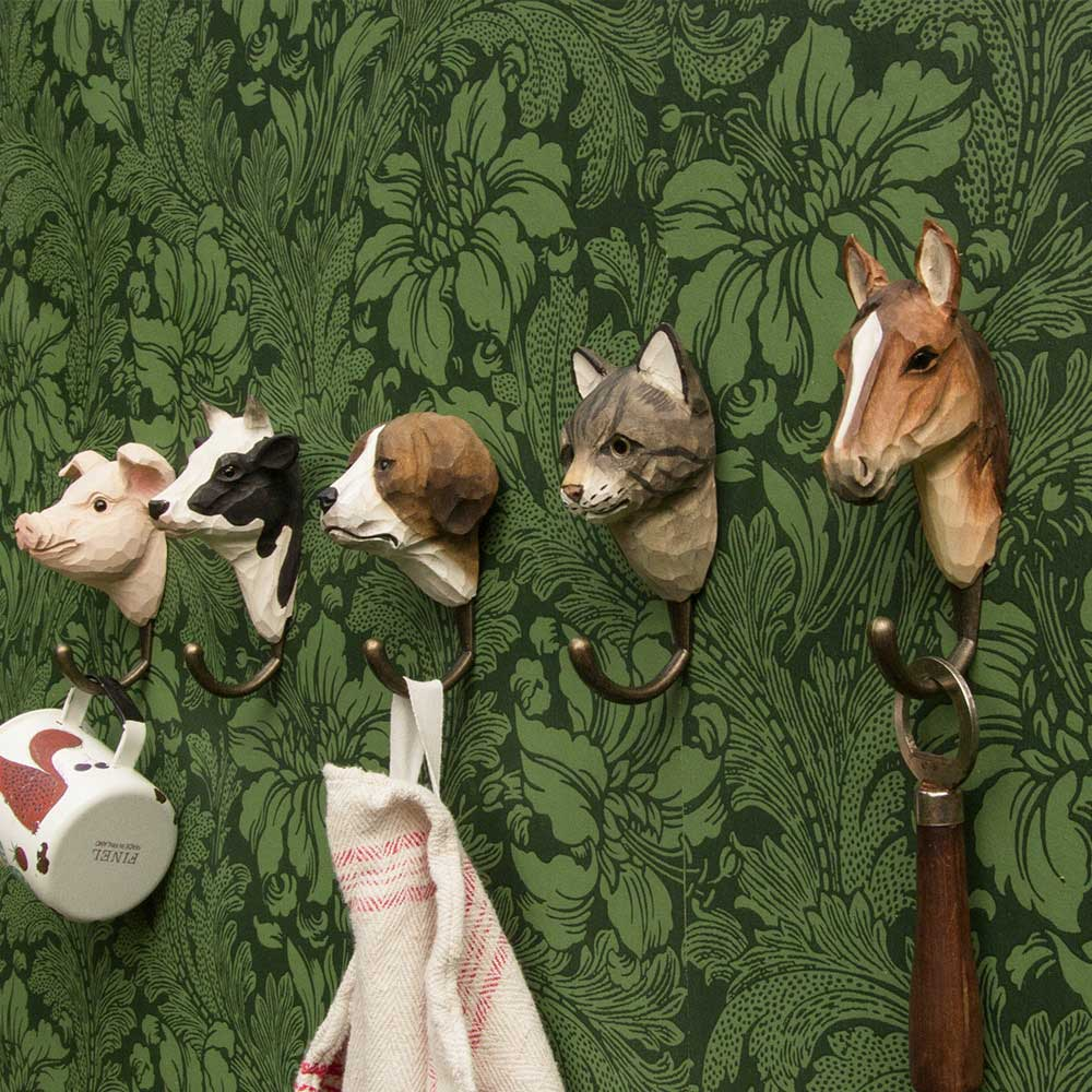 WILDLIFE GARDEN Wall Hooks (only horse hook incl. in offer) | the design gift shop