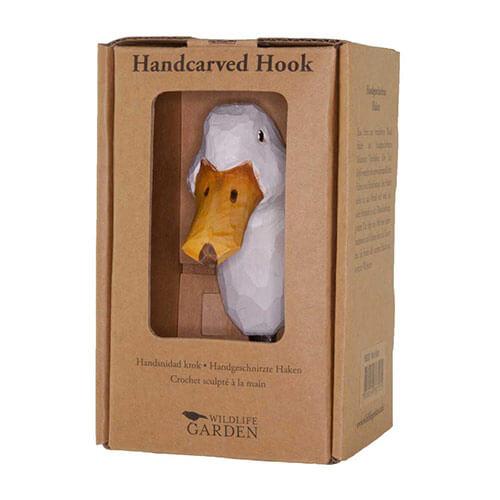 WILDLIFE GARDEN Wall Hook Duck | the design gift shop