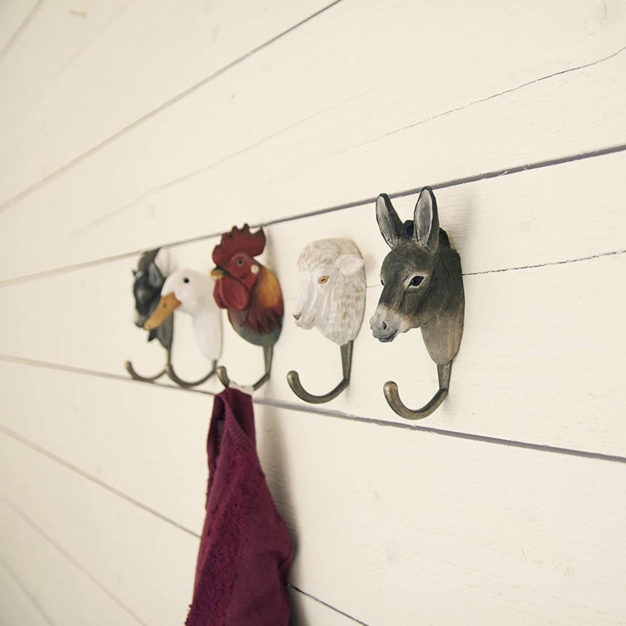 WILDWILD LIFE GARDEN Wall Hooks (only sheep hook incl. in offer) | the design gift shop