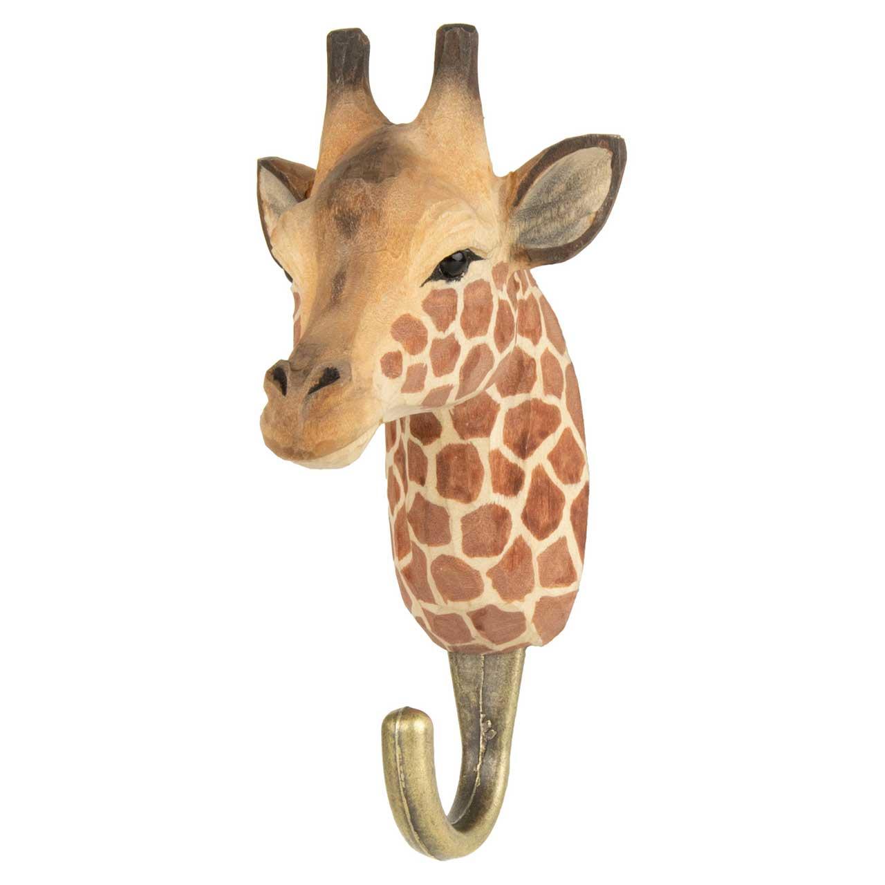 WILDLIFE GARDEN Wall Hook Giraffe | the design gift shop