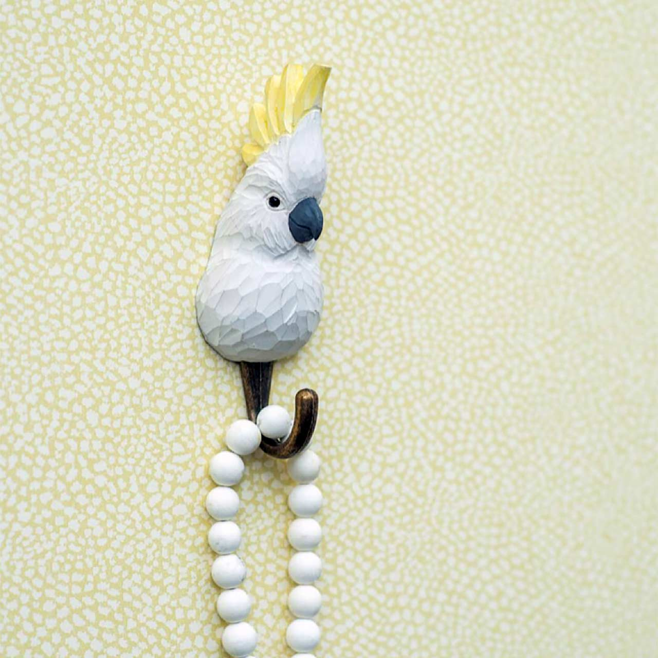 WILDLIFE GARDEN Wall Hook Cockatoo | the design gift shop