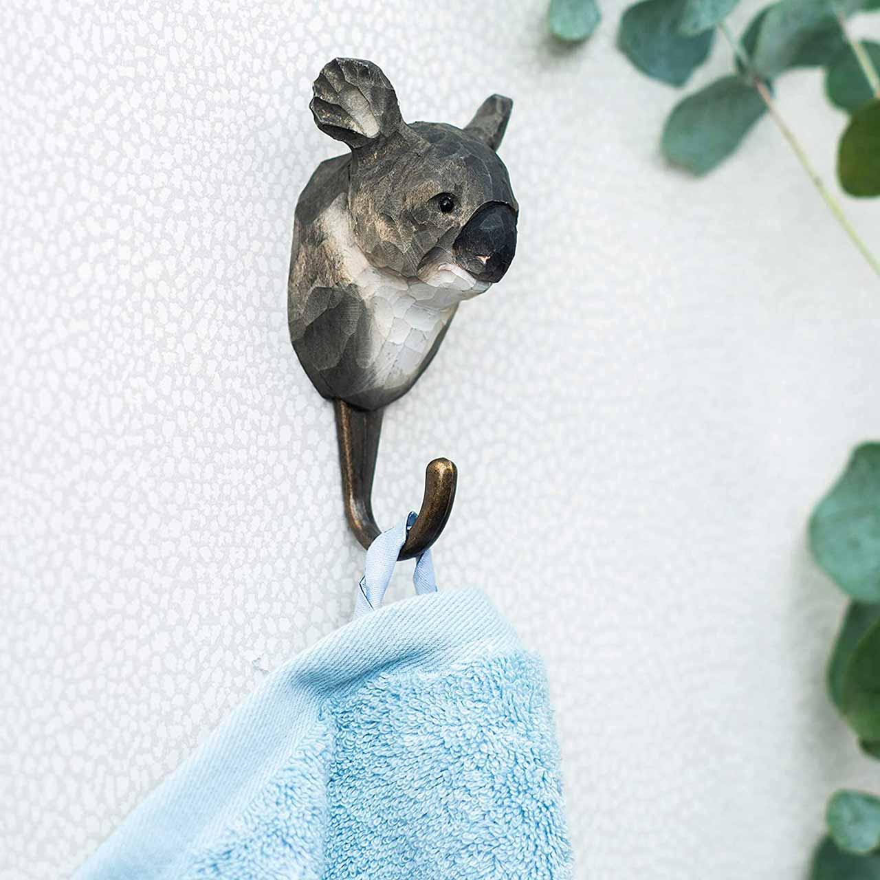 WILDLIFE GARDEN Wall Hook Koala   the design gift shop