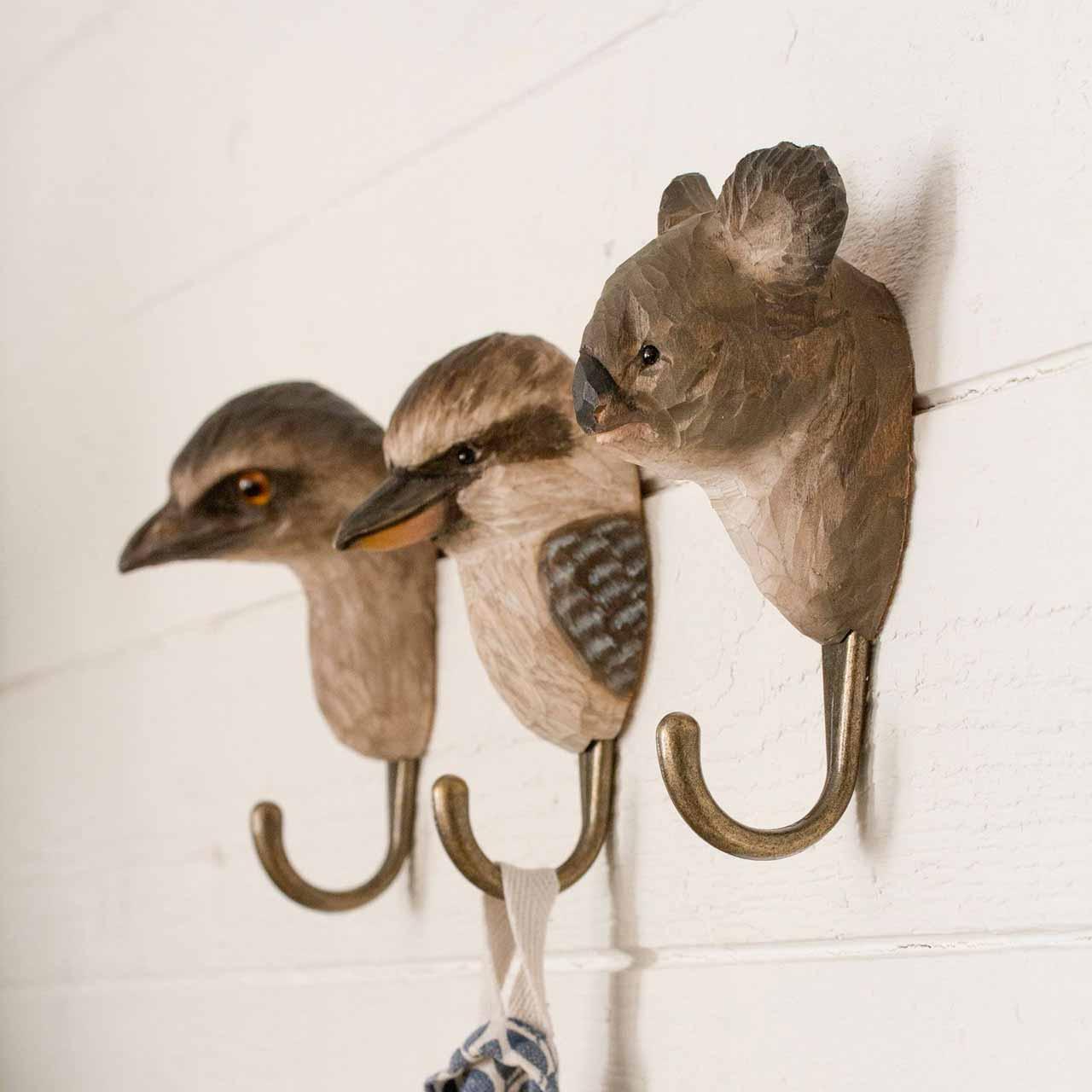 WILDWILD LIFE GARDEN Wall Hooks (only koala hook incl. in offer)   the design gift shop