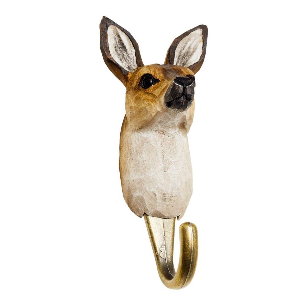 WILDLIFE GARDEN Wall Hook Kangaroo   the design gift shop