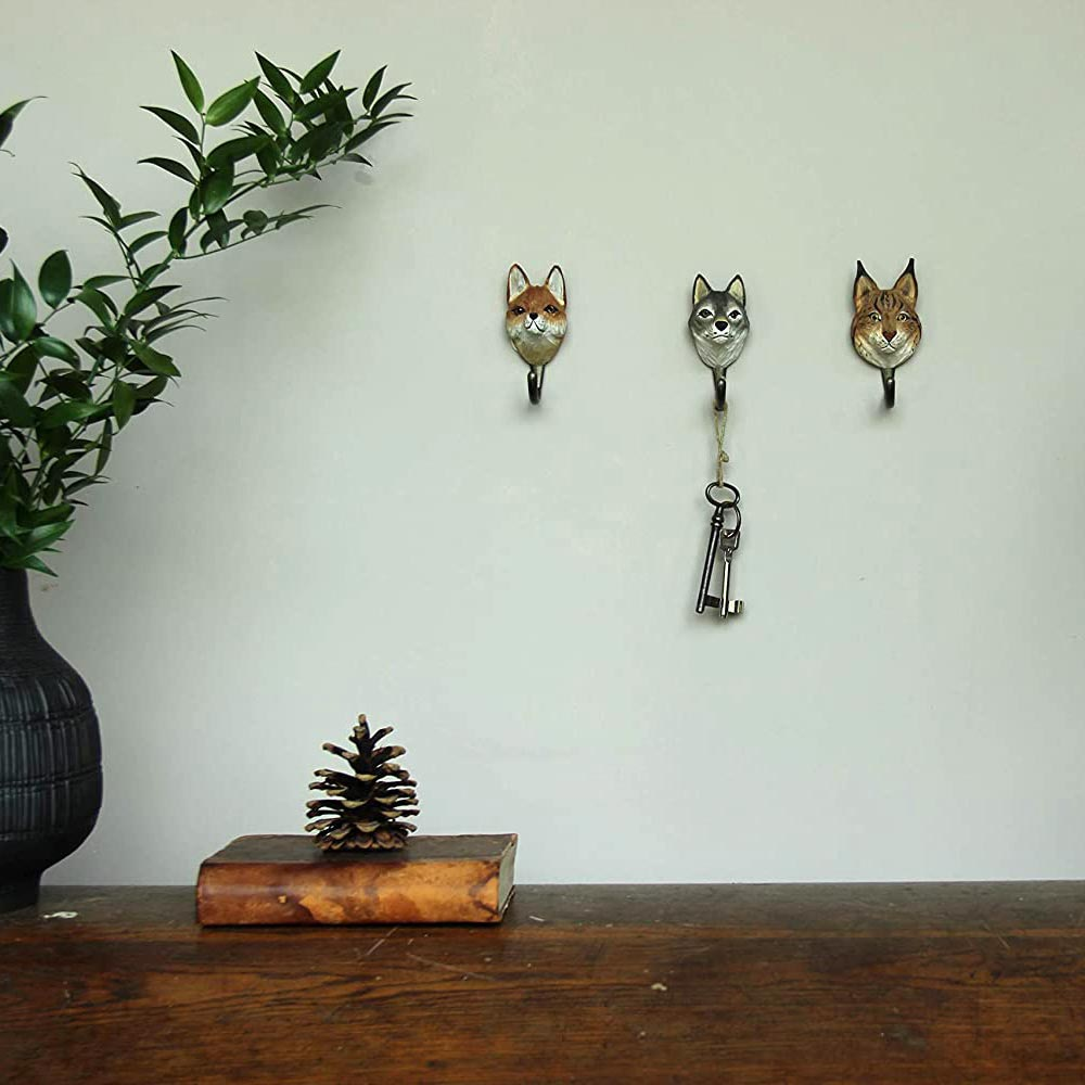 WILDWILD LIFE GARDEN Wall Hooks (only wolf incl. in offer) | the design gift shop