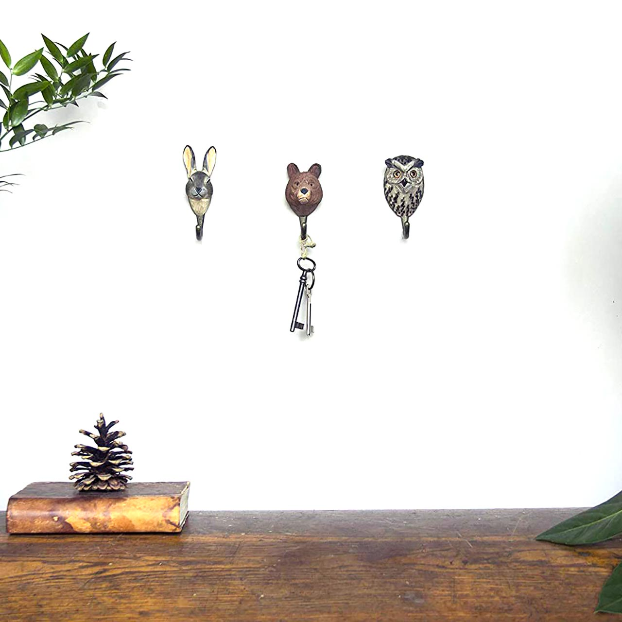 WILDLIFE GARDEN Wall Hooks (only brown bear part of the offer)   the design gift shop