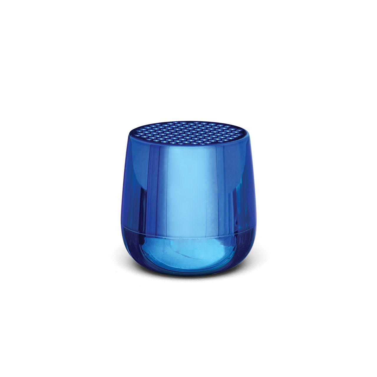 LEXON Mino+ Speaker LA125MB Metallic Blue   the design gift shop