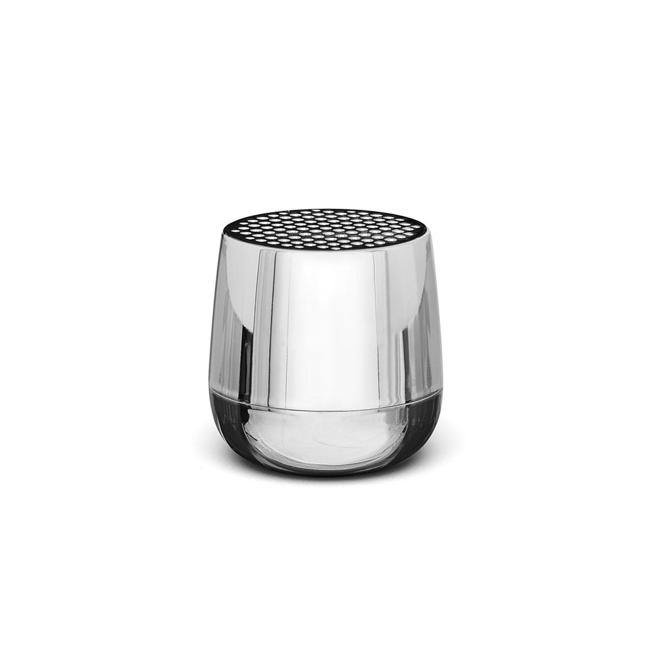 LEXON Mino+ Speaker LA125MC Metallic Chrome | the design gift shop
