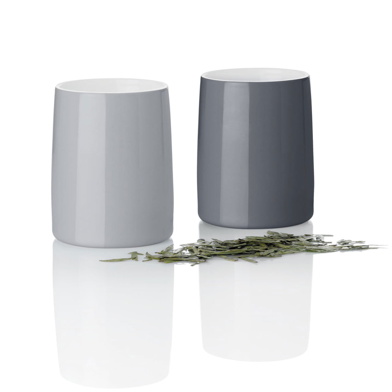 STELTON Emma Thermo Cup Set 2pc Grey | the design gift shop