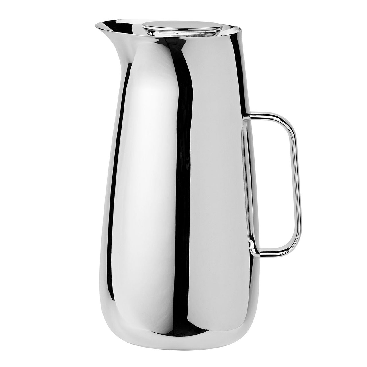 STELTON Foster Vacuum Jug Stainless Steel   the design gift shop