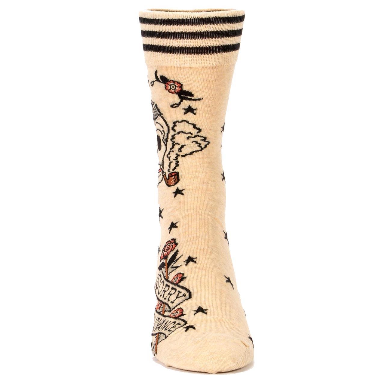 Blue Q Men's Socks 'Sorry In Advance' | the design gift shop