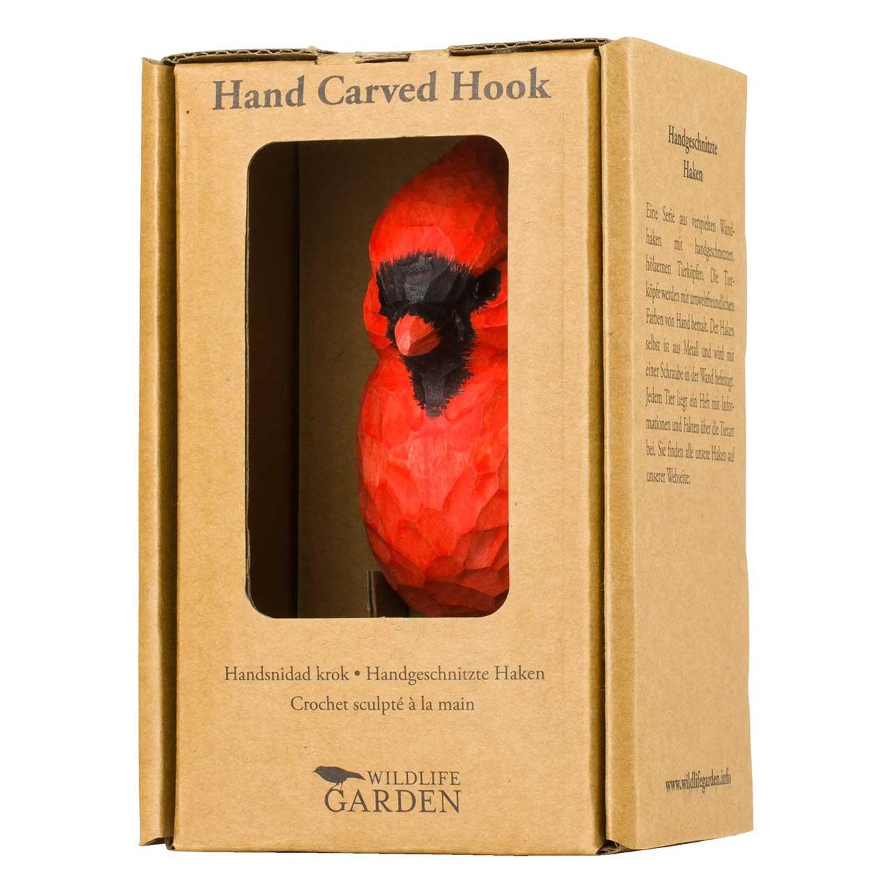 WILDLIFE GARDEN Wall Red Northern Cardinal | the design gift shop