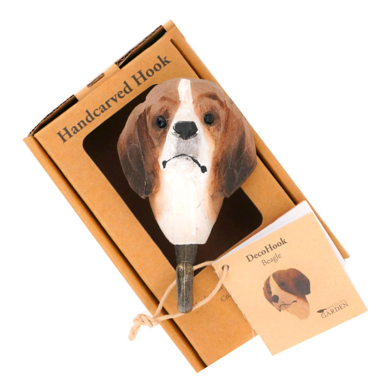 WILDLIFE GARDEN Wall Hook Dog | the design gift shop