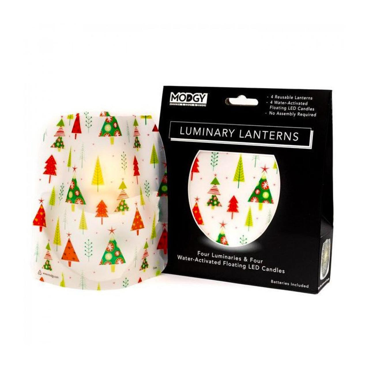 Modgy Coni Luminaries (set of 4) | the design gift shop