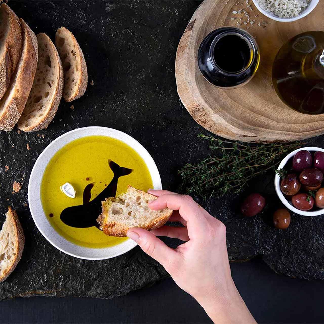 Peleg Design Dip Sea Oil And Vinegar Dipping Dish | the design gift shop