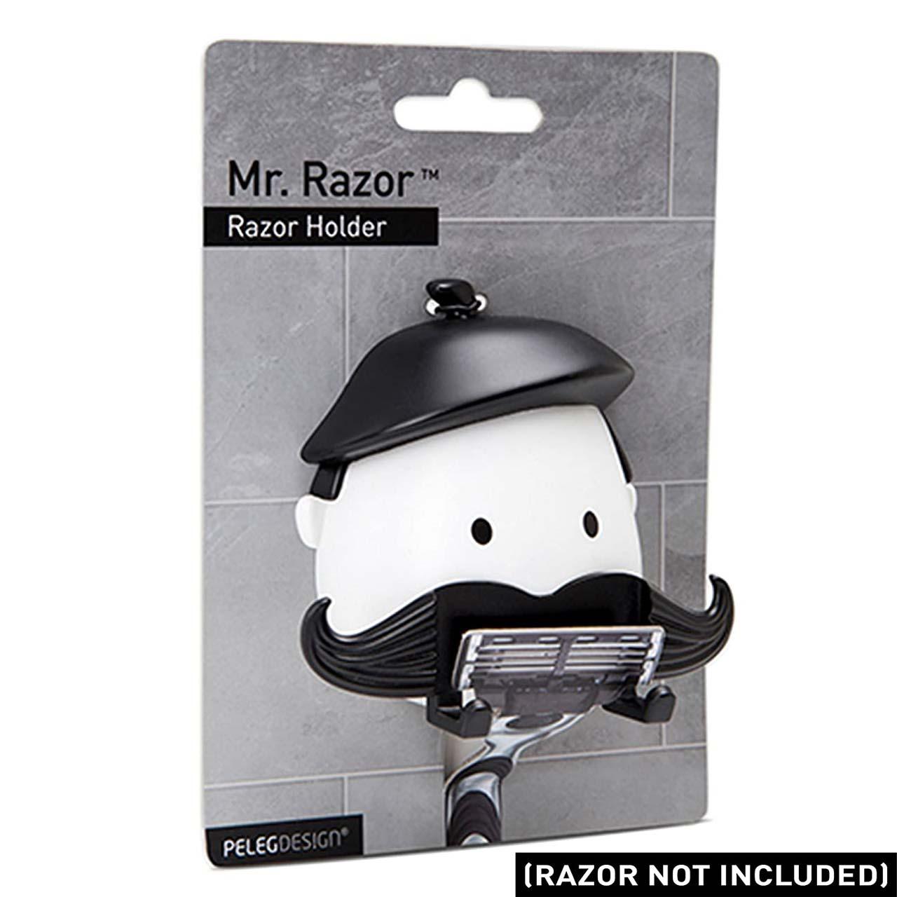 Peleg Design Razor Holder Mr Razor | the design gift shop