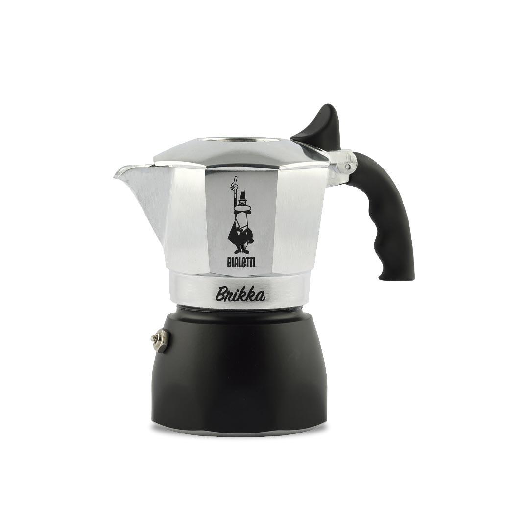 BIALETTI Brikka  2 Cup Espresso Coffee Maker | the design gift shop
