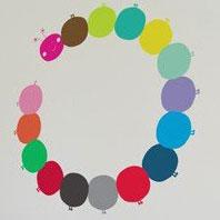 BLIK WALL DECALS, Artist CHRISTY FLORA, Motive CATERPILLAR