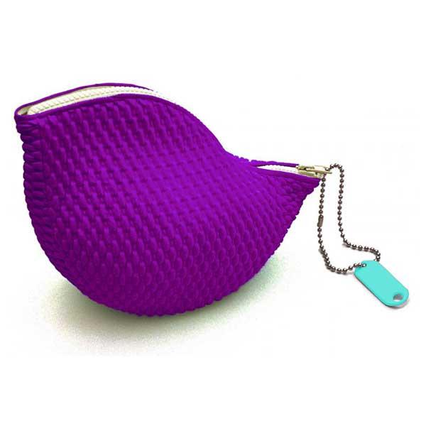 Goosebumps Purple Vanity Bag