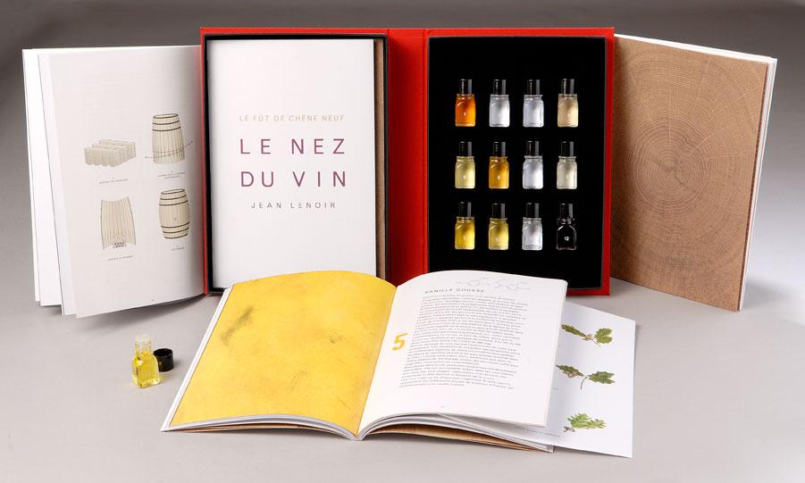 Le Nez du Vin 12 aromas kit New Oak