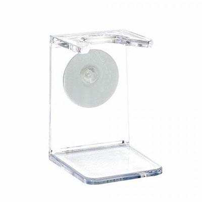 Muhle RH5 transparent shaving brush holder | the design gift shop