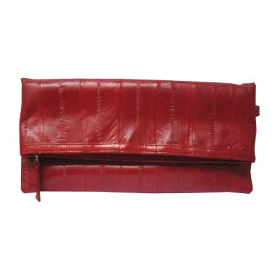 NAOMI LEVI  - MEDIUM FOLD CLUTCH  colour LIPSTICK RED