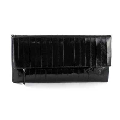 NAOMI LEVI  - MEDIUM FOLD CLUTCH  colour BLACK