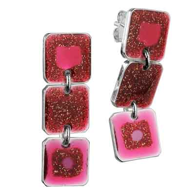 SKALLI PARIS - Earrings colour GRIOTTE