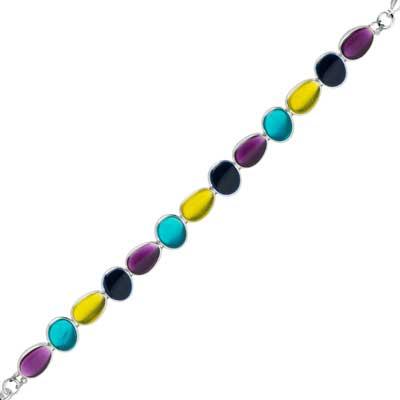 SKALLI PARIS - GALET GA26 - Bracelet colour INDY